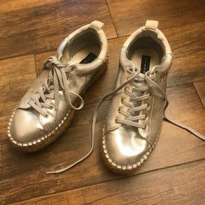 Metallic Steven by Steve Madden sneakers